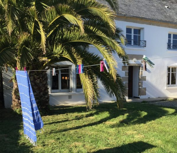 Ferienhaus Ty Boz Außenansicht