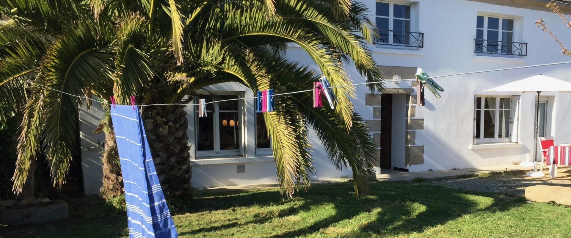 Ferienhaus Ty Boz Außenansicht vom Haus