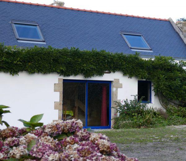 Ferienhaus Ty Houidi Außenansicht